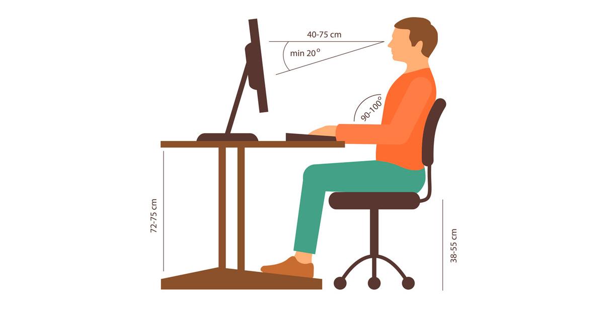 quais s o as principais normas de ergonomia exigidas pelo